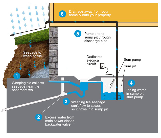 Sump Pump Installation & Repairs in Toronto - Canadian Rooter